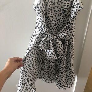 Lush Dresses - Cheetah print mini dress